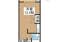 Risaria apartments 間取り図