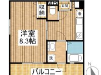 仮)S様宮良新築共同住宅 間取り図