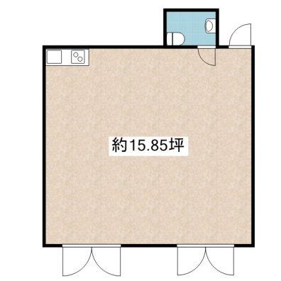 コンフォートISHIGAKI店舗 103 間取り図