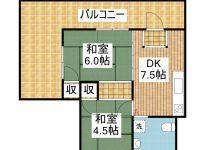 賃貸 ANRIビルISHIGAKI 2階 間取り図