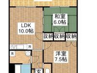 賃貸 K.Kマンション 3階 間取り図