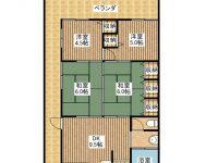HOTAMORIアパート 間取り図