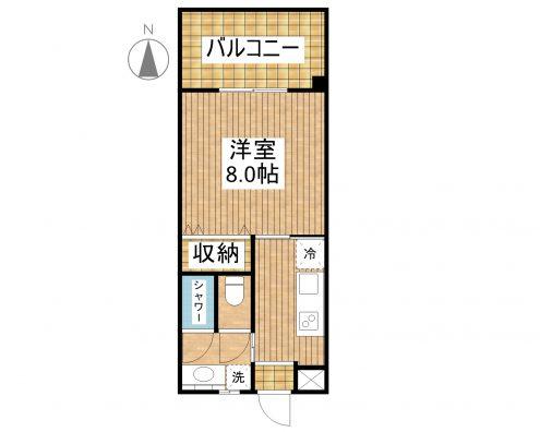 (仮称)美らハウスⅡ 201 間取り図