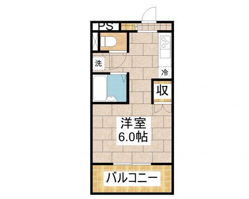 ワコーレKAMIJI 303 間取り図