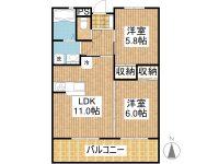 賃貸 AJIやいまビル 4階 間取り図
