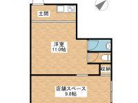 ANRIビル新栄町14 間取り図