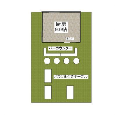 竹富島テナント 1F 間取り図