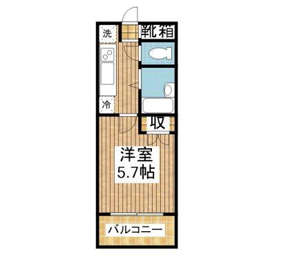 新川stay 4-G 間取り図