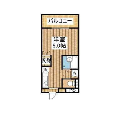 ワコーレKAMIJI 203 間取り図