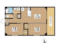 賃貸 VILLETTA-ISHIGAKIJIMA 2階 間取り図