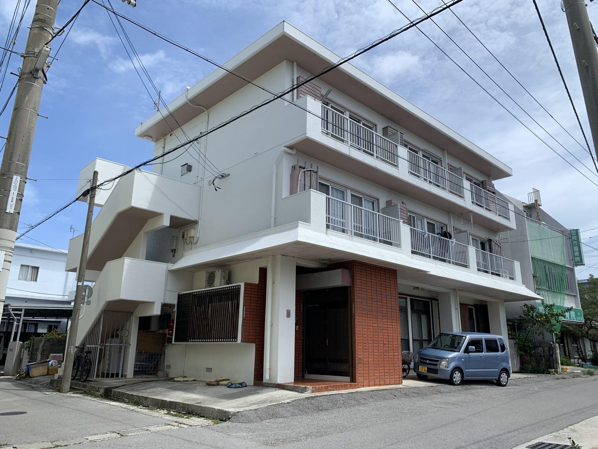 山田アパート 外観