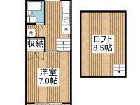 賃貸 メゾンcoto 3階 間取り図