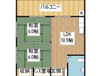 コンフォートISHIGAKI 間取り図