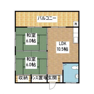コンフォートISHIGAKI 305 間取り図